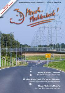 Mensch Mecklenbeck - Ausgabe August 2014